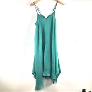 Urban Outfitters green trapeze dress by Cope